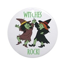Witches Rock Ornament (Round)