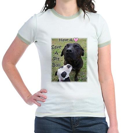 Have A Heart Jr. Ringer T-shirt