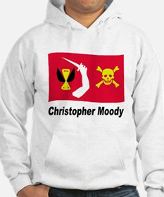 Pirate Flag - Christopher Moody (Front) Hoodie