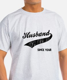 Husband Since year T-Shirt