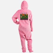 Boot Camp Humor Footed Pajamas