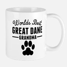 Worlds Best Great Dane Grandma Mugs