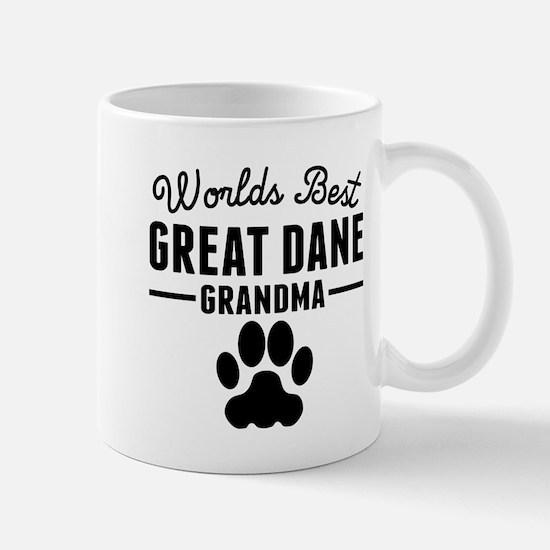 Worlds Best Great Dane Grandma Mugs