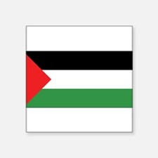"Cute Country flag palestine Square Sticker 3"" x 3"""