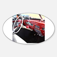 Classic car dashboard Decal