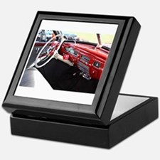 Classic car dashboard Keepsake Box