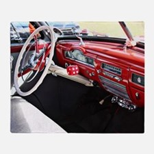 Classic car dashboard Throw Blanket