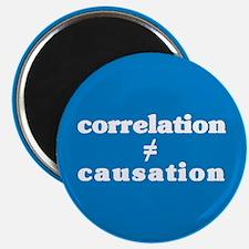 Correlation Causation Magnet
