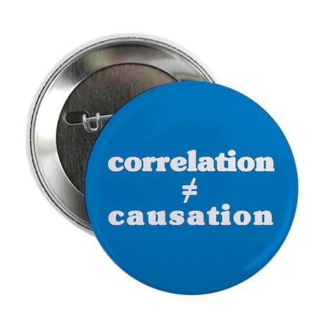 Correlation Causation Button