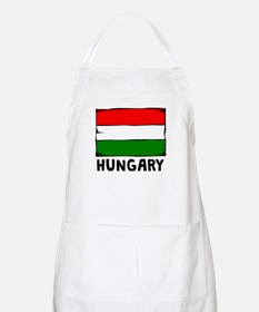 Hungary Flag Apron