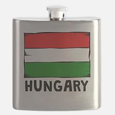 Hungary Flag Flask