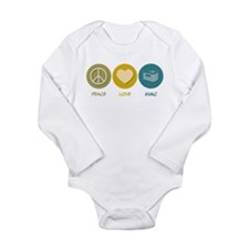 Unique Hvac Long Sleeve Infant Bodysuit