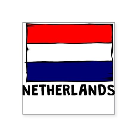 holland flag coloring page - netherlands flag sticker by justtheflags