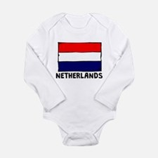 Netherlands Flag Body Suit