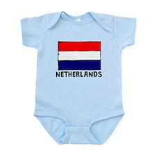 Netherlands Flag Body Suit