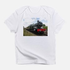 Vintage steam engine by Tom Conway Infant T-Shirt