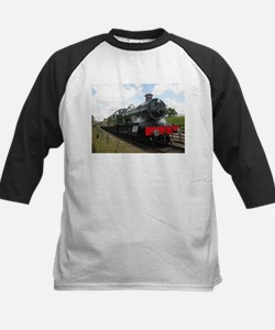 Vintage steam engine by Tom Conway Baseball Jersey