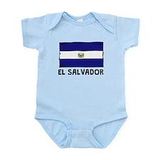 El Salvador Flag Body Suit