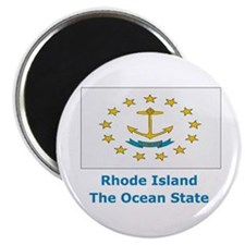 Rhode Island State Flag Magnet