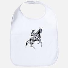 Rearing horse Bib
