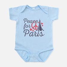 Peace For Paris Infant Bodysuit