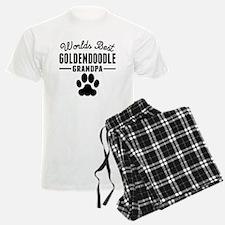 Worlds Best Goldendoodle Grandpa Pajamas