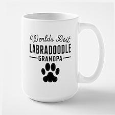 Worlds Best Labradoodle Grandpa Mugs