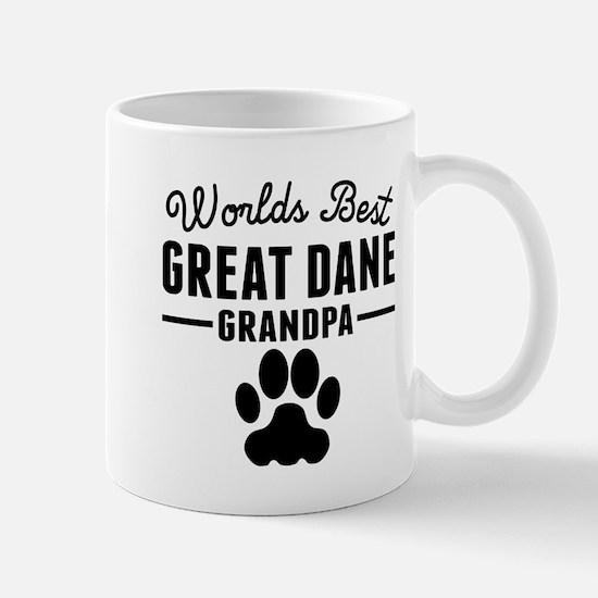 Worlds Best Great Dane Grandpa Mugs