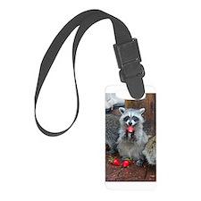 Raccoon Sm. Luggage Tag