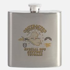 Contractor - Special Ops Spt Vet - Iraq Flask