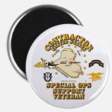 """Contractor - Special Ops S 2.25"""" Magnet (10 pack)"""