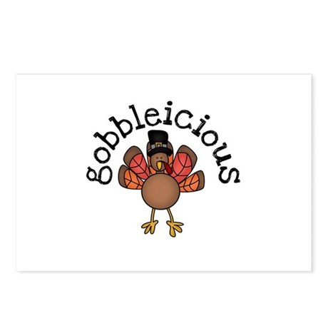 Gobbleicious Postcards (Package of 8)