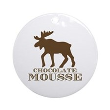 Chocolate Mousse Ornament (Round)