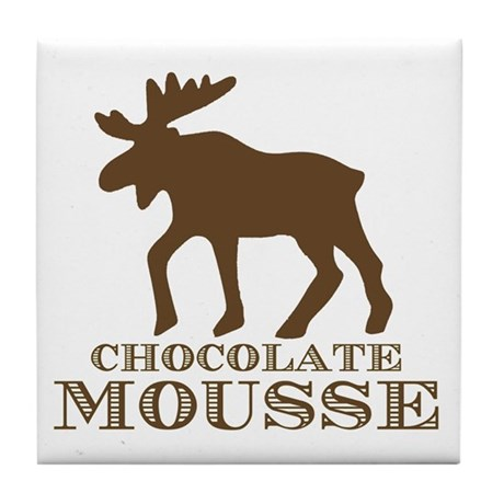 Chocolate Mousse Tile Coaster