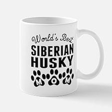Worlds Best Siberian Husky Mom Mugs