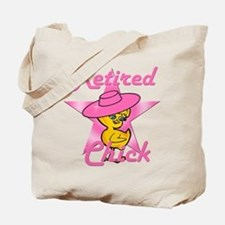 Retired Chick #8 Tote Bag