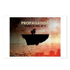 Obama Is Full of Propaganda Postcards (Package of