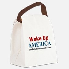 Wake Up AMERICA Canvas Lunch Bag