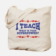 Funny Teacher Tote Bag