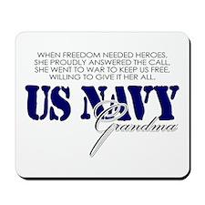When freedom needed heroes: U Mousepad