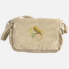 Pastel Green Parakeet Messenger Bag