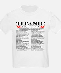 Unique Sinking of titanic T-Shirt