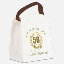 Cool Funny old age sayings Canvas Lunch Bag
