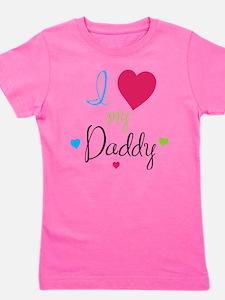 I love daddy Girl's Tee