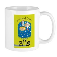 Latkes & Latte Mug