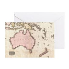Cute Australia oceania Greeting Card