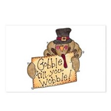 Gobble Wobble Postcards (Package of 8)