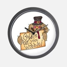 Gobble Wobble Wall Clock