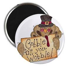 """Gobble Wobble 2.25"""" Magnet (100 pack)"""