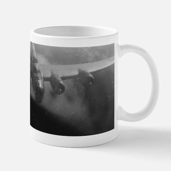 B17 WW2 Tailgunner View Mugs